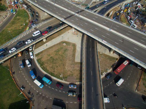 Kwame Nkrumah Circle  Roadway Network – Ghana